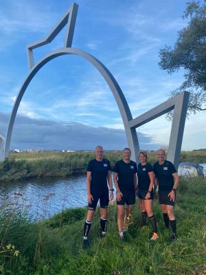 Kwartet in Friesland